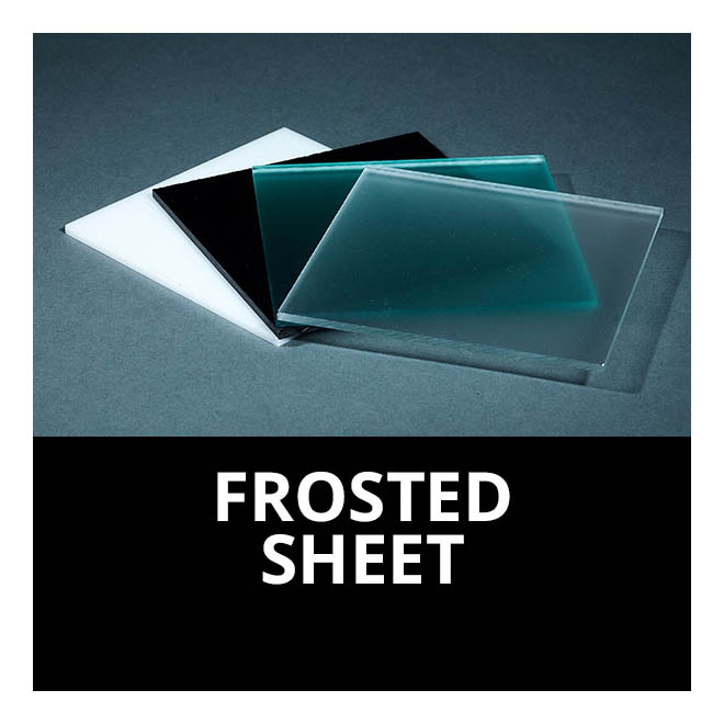 Frosted Acrylic Plexiglass Sheets Cut to Size