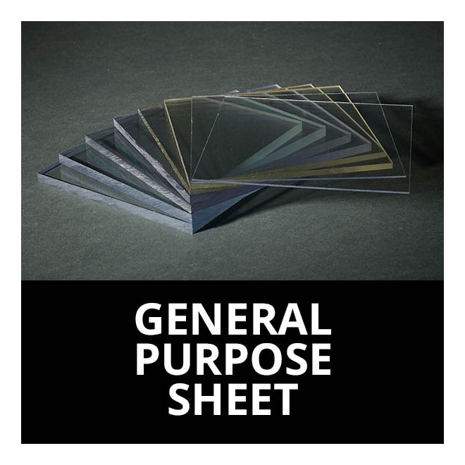 General Purpose Polycarbonate Sheets Cut to Size