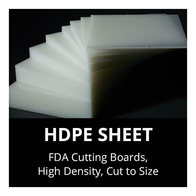 HDPE Sheets Cutting Boards Cut to Size