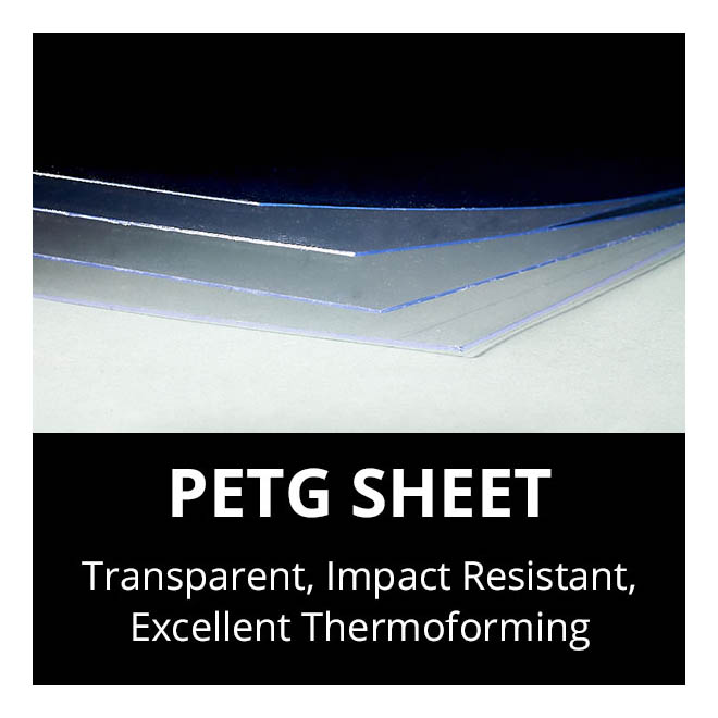 PETG Thermoplastic Sheets Cut to Size